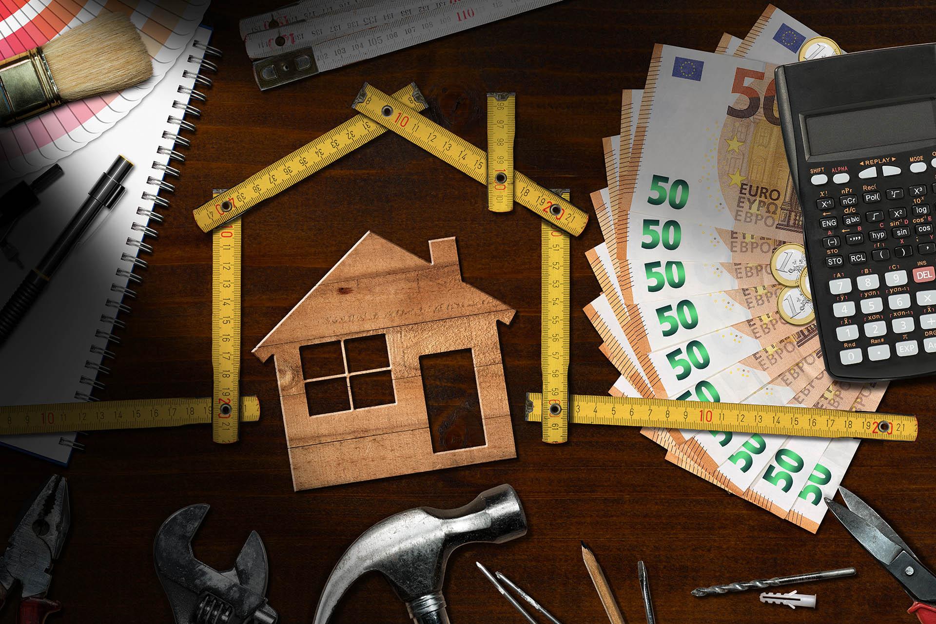 peniaze na stole
