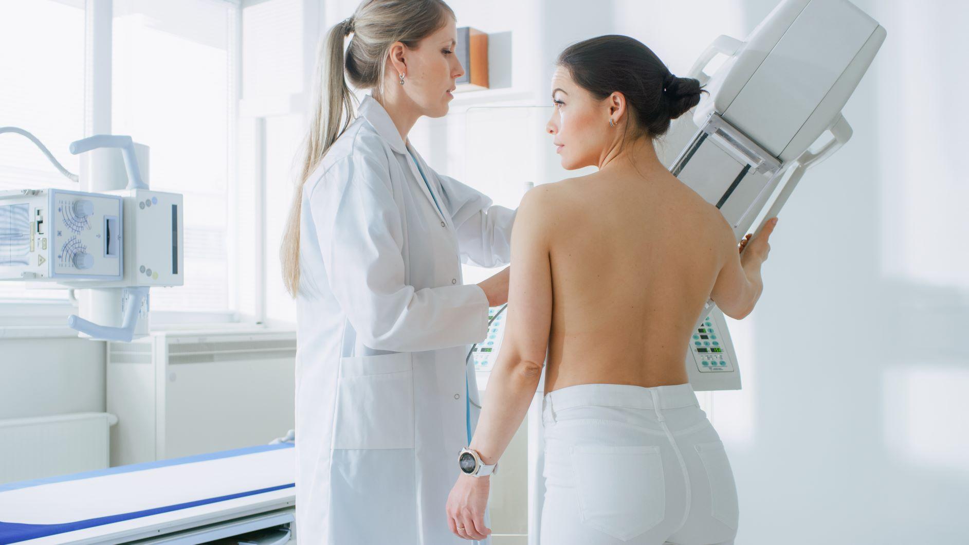 mamografické vyšetrenie