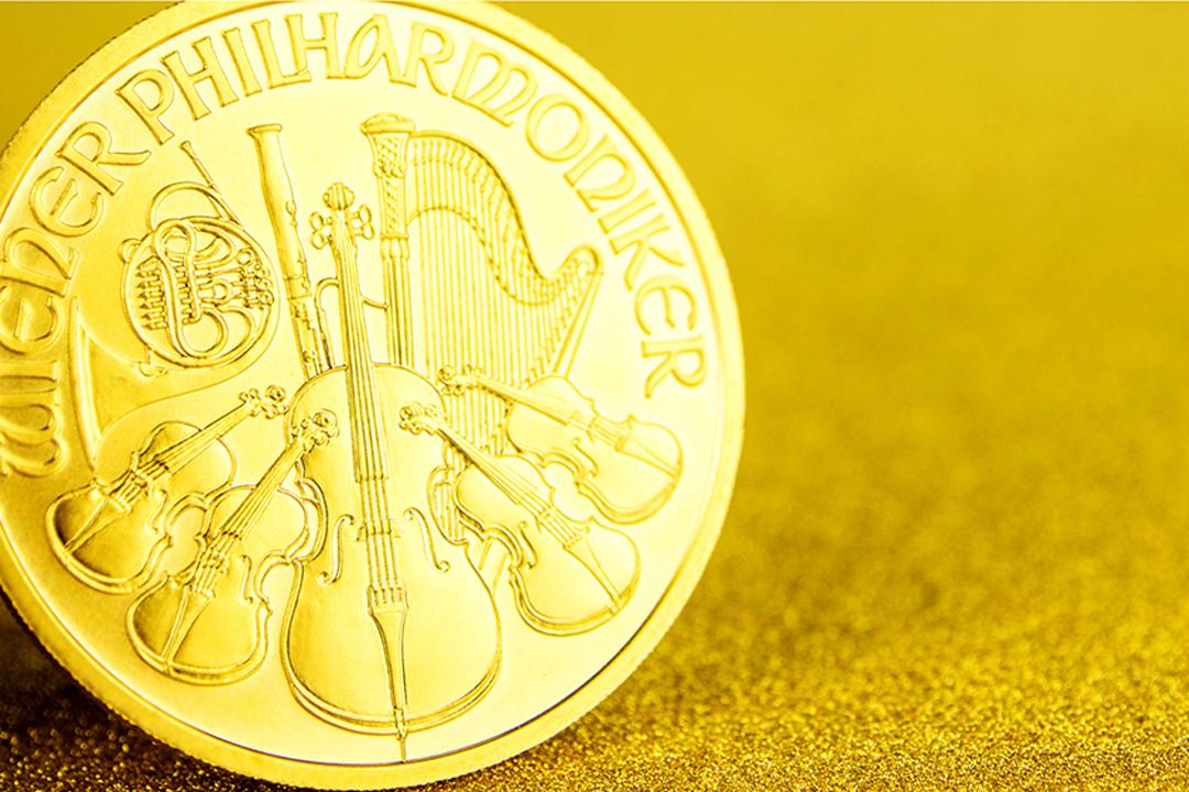 zlatá minca viedenskí filharmonici