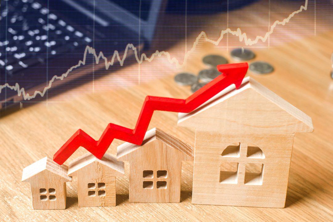 vývoj cien nehnuteľností